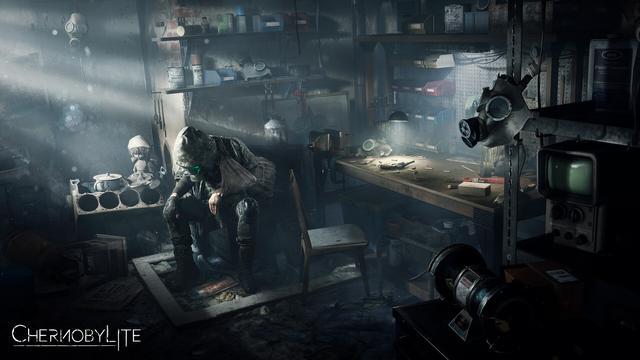恐怖游戲《切爾諾貝利人》新視頻現實與游戲地點對比