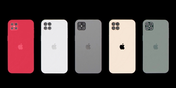 iPhone 12 Pro概念渲染曝光:重回iPhone 4外观、无刘海的照片 - 2