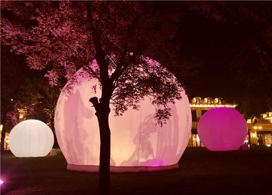 以光作笔,书写城市文化与历史——HALO PARK光楽园城市光影节策展团队