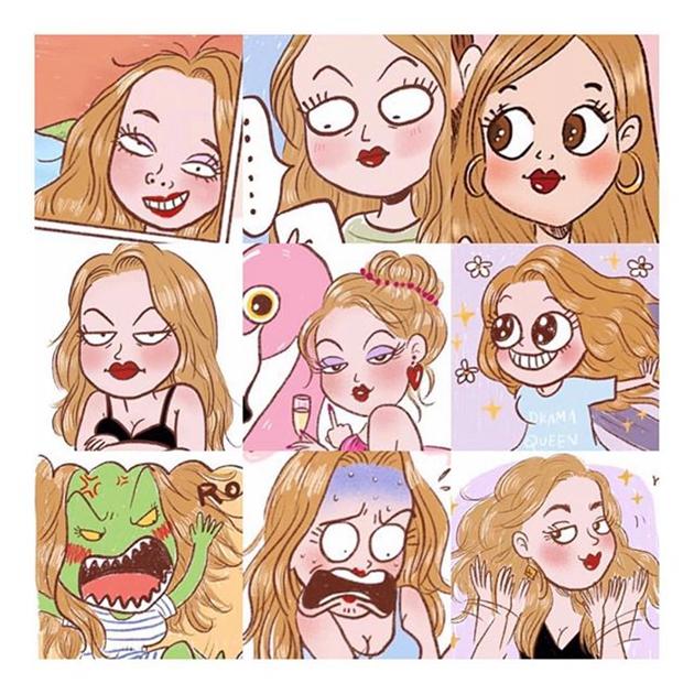 超级真实《女孩们日常的小烦恼》,原来每个女生都有一样的烦恼啊!