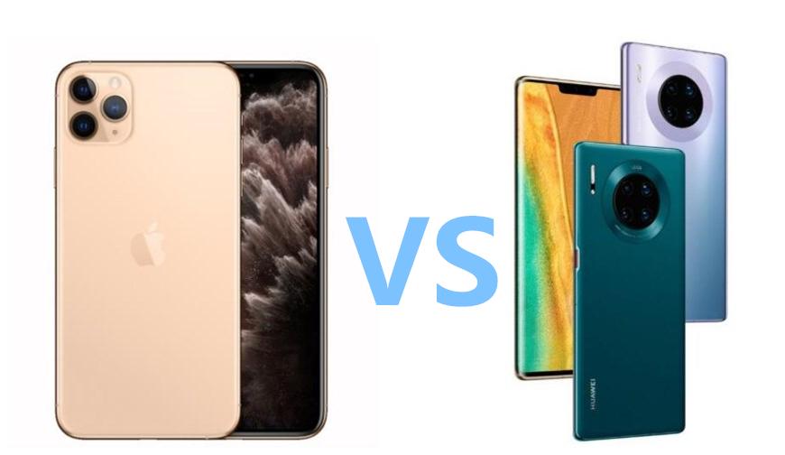 iPhone 11 Pro vs 华为Mate 30 Pro 相机对比