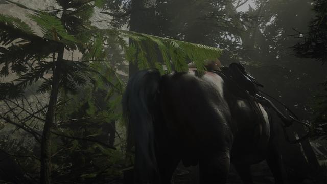 吃撐了?我的馬兒在《荒野大鏢客2》中瘋狂拉屎