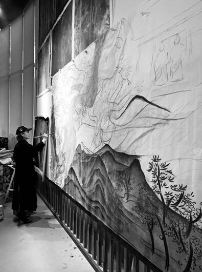 张健:《中国女性艺术》代表性艺术家