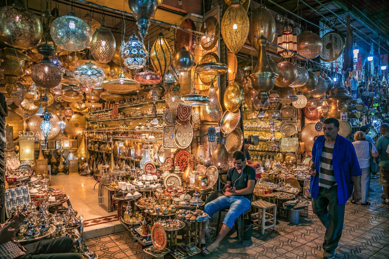 实拍摩洛哥集市:这里是义乌小商品市场?阿拉伯人笑话我没钱