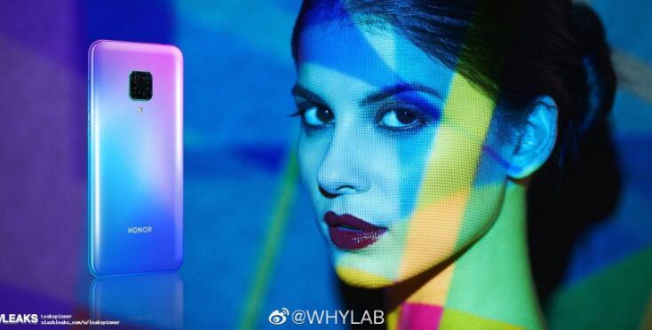 赵明亲测5G网速,荣耀首款5G手机V30曝光的照片 - 3