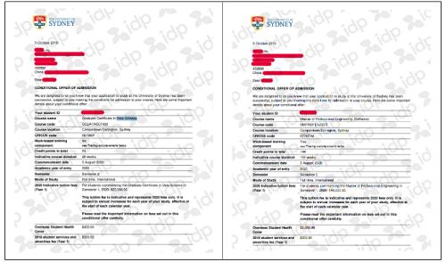 澳洲研究生免费申请 IDP助力喜提悉尼大学双录取