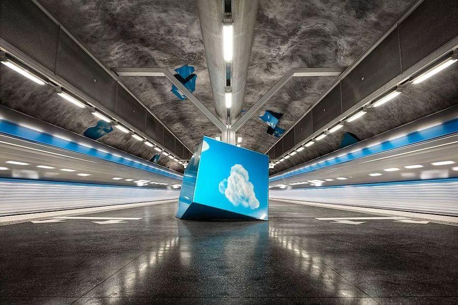 斯德哥尔摩艺术地铁