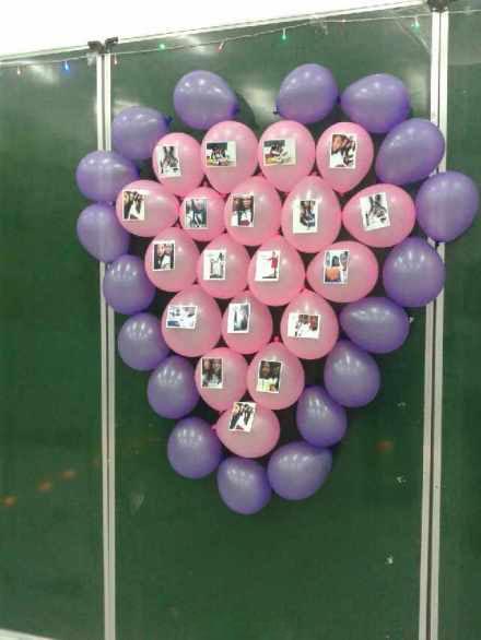 氣球怎么把照片圍起來?氣球浪漫布置的方式