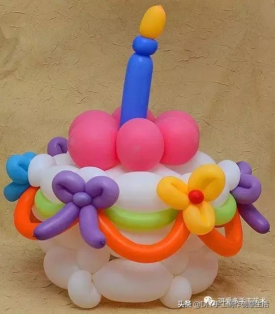 长条气球简单造型教程图解!节日派对、哄娃都需要