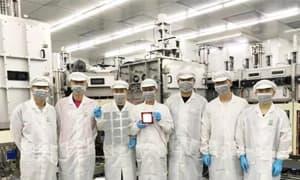 江苏省成功打造我国首条自主研制OLED照明蒸镀产线