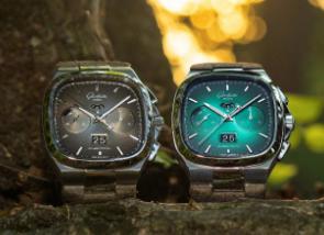 格拉苏蒂原创七零年代大日历计时腕表荣添绿色和灰色特别限量版