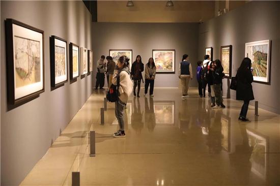 """""""寻找真实——杨参军油画研究展""""在中国油画院美术馆开幕"""