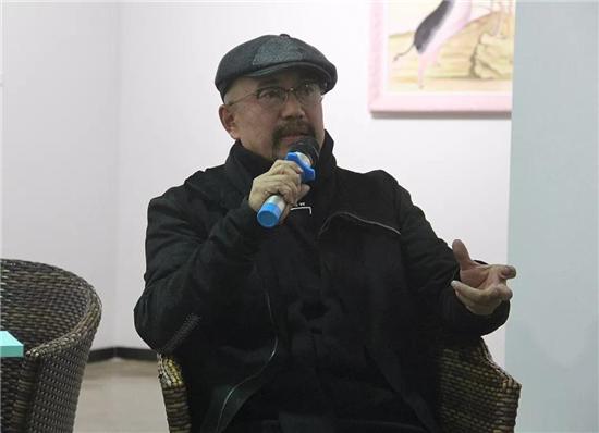 魏阳阳――青山赋艺术作品展在北京锦都艺术中心隆重开幕