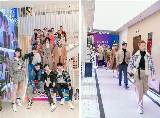 """森马[双城记]杭州开启""""时尚周末""""邀你来离西湖最近的室内T台走一场秀"""