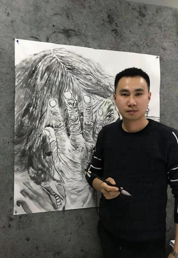 画家郭志威——逼真传神 气韵生动