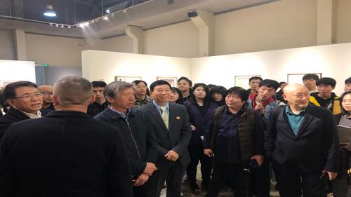 劉瀚鍇首席執行官應邀出席著名畫家·藝術作品展開幕式
