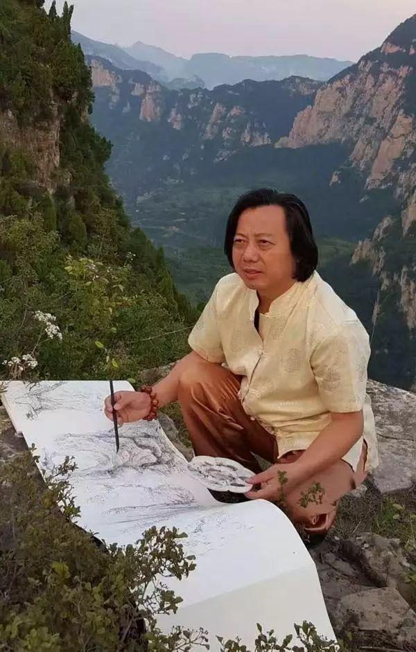 国际高端签约书画家陈宝亮