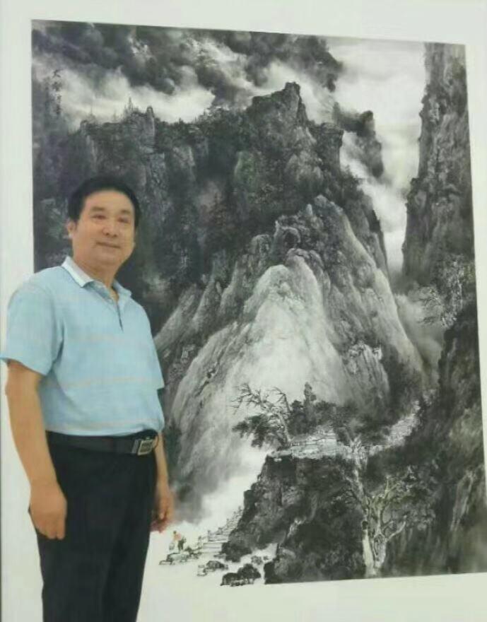 画家杨立院——行云流水 形神兼备