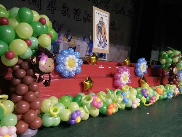 氣球怎樣裝飾婚房?簡單好看的婚禮婚房氣球布置圖片