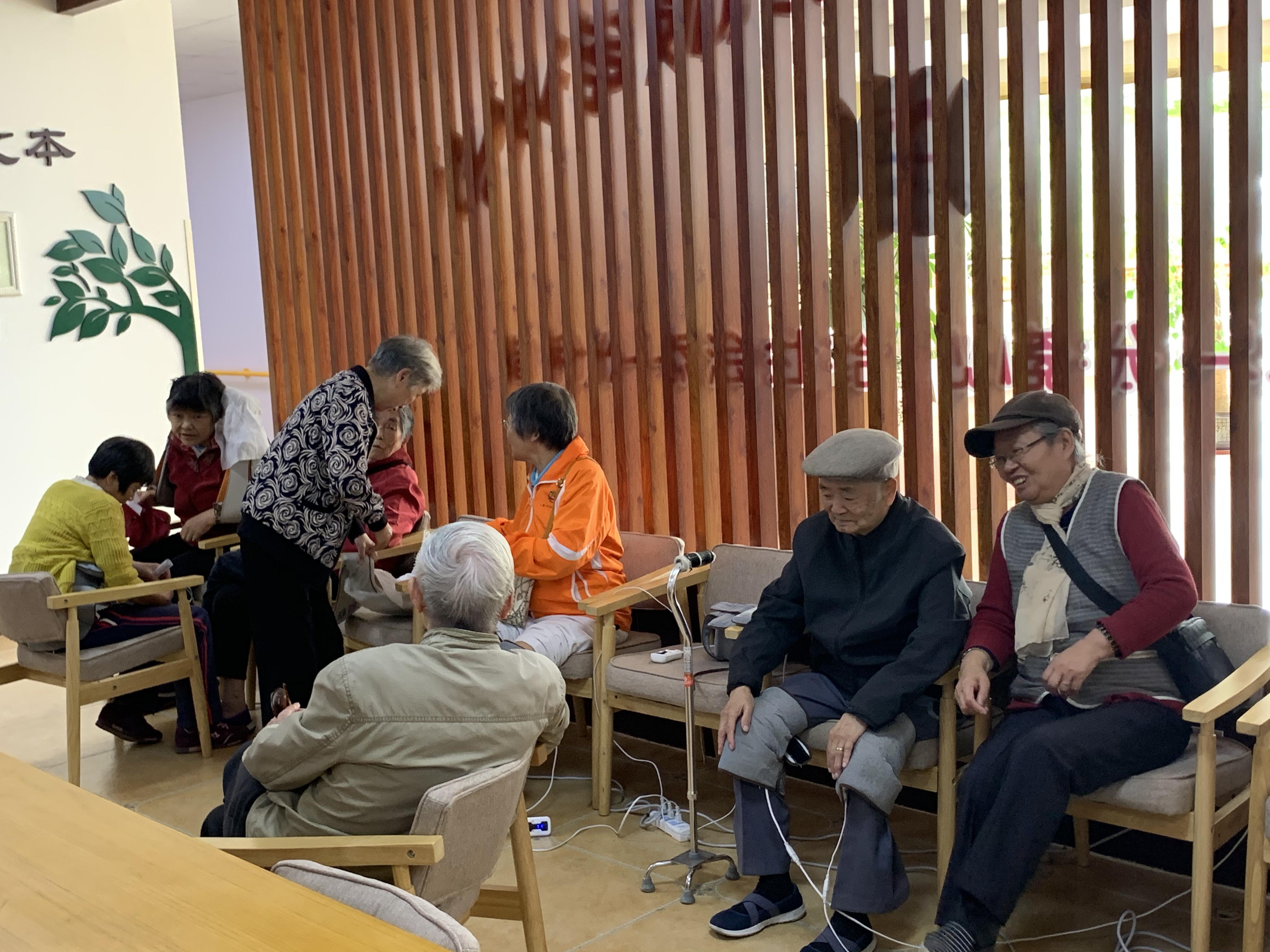 """""""关爱健康乐享生活――健康服务交流会""""在上海崇明举行"""