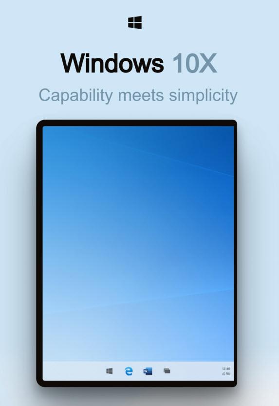 Windows 10X设计文档曝光:遇见未来的桌面系统的照片 - 2