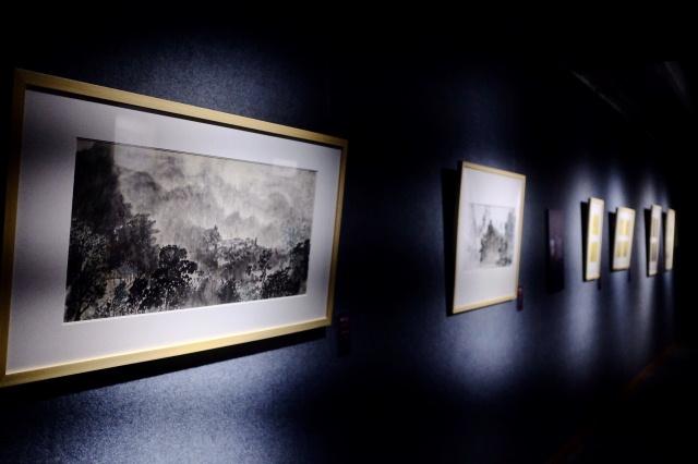 同源异质:中国文人书画形态的当代建构 艺术学博士中国书画作品邀请展
