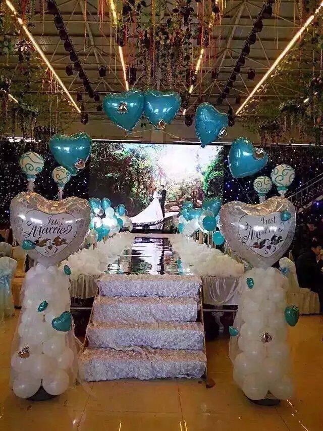 气球布置生日会场和房间图片!这么做不显LOW