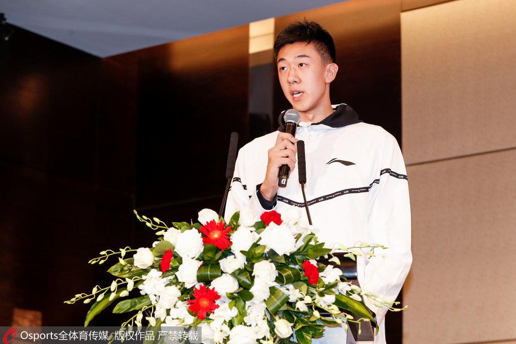 王少杰:已适应CBA训练强度 进季后赛是最基本目标