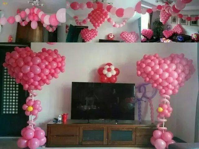 婚礼气球布置在哪里?分享婚礼现场气球布置效果图