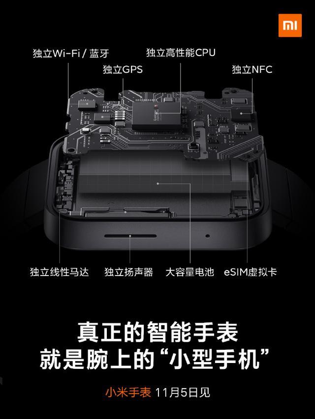 """小米手表官方自曝:就是一部腕上""""小型手机""""的照片 - 2"""