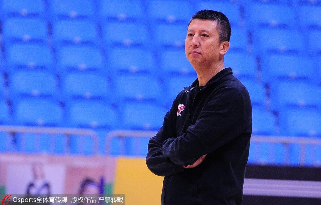 郭士强:新赛季辽篮目标不变 就是要拿到总冠军