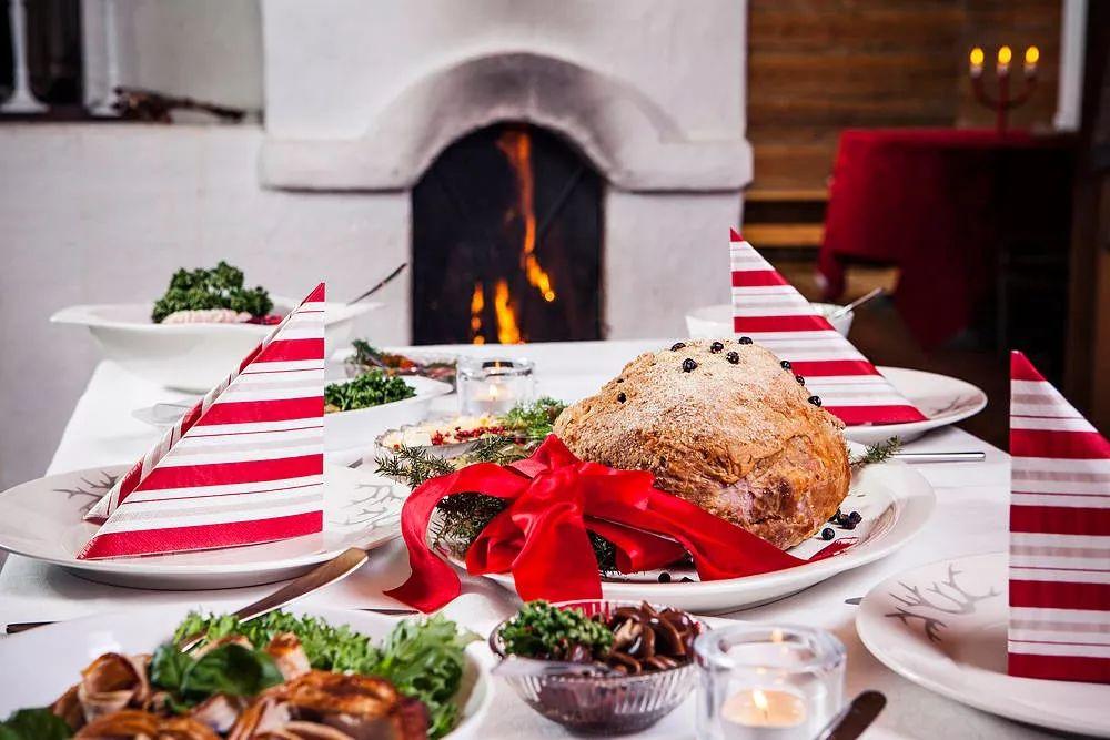 北欧人的圣诞餐桌有什么