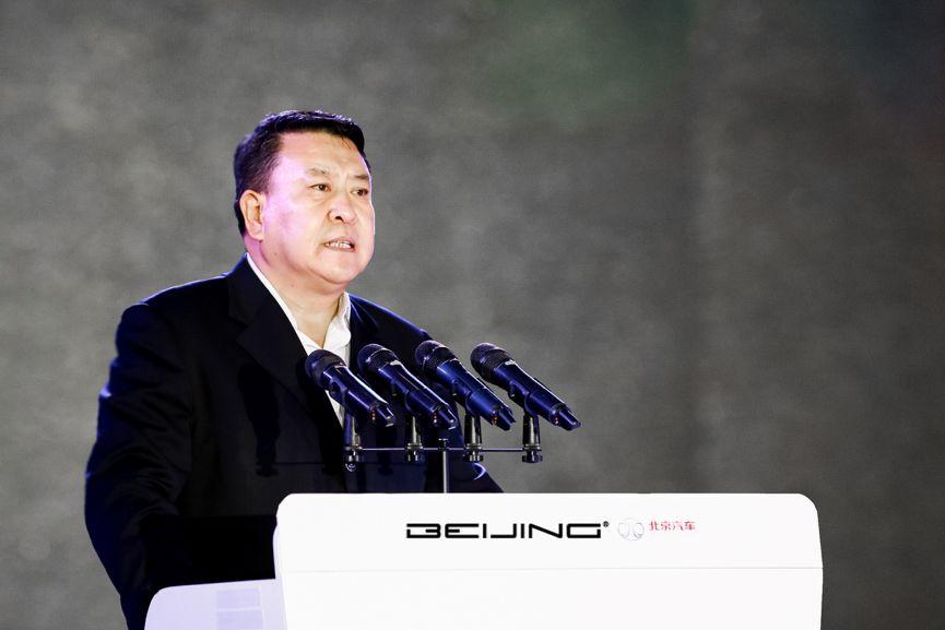 株洲生產基地百萬輛車下線 北京汽車更自信了