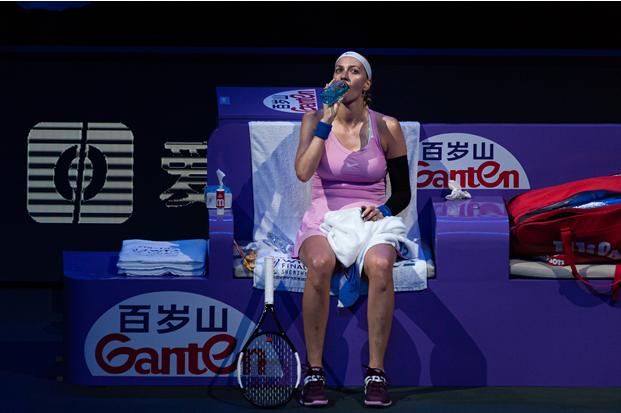"""美颜暴击!百岁山大放送WTA比赛高清""""大长腿""""美图!"""