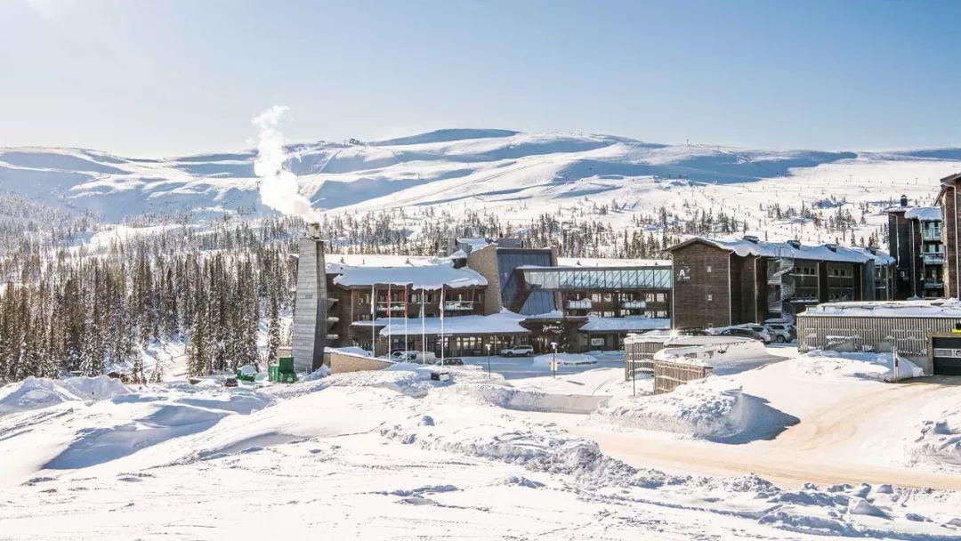 挪威特吕希尔滑雪  闻名的斜坡