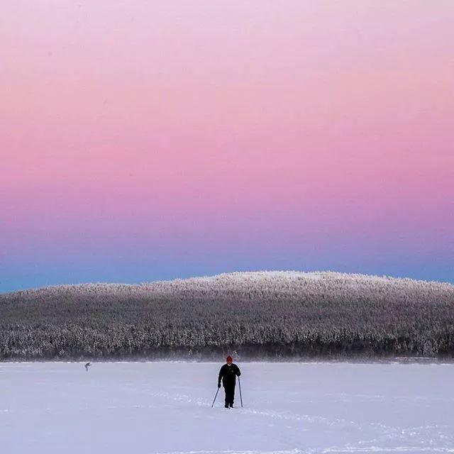 芬兰禺拉斯滑雪场  不只是滑雪那么简单