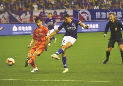 申花抵达济南中卫复出待定 力争客场进球尤为关键