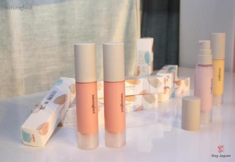 日本有机彩妆品牌Naturaglacé花姿菓色正式登陆中国