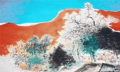 中国画坛主流:张伯远山水作品赏析
