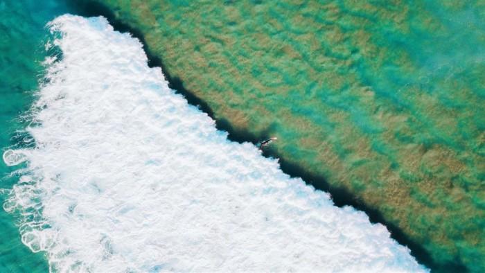 微软放出沙滩海浪主题的免费Win10壁纸包的照片 - 4