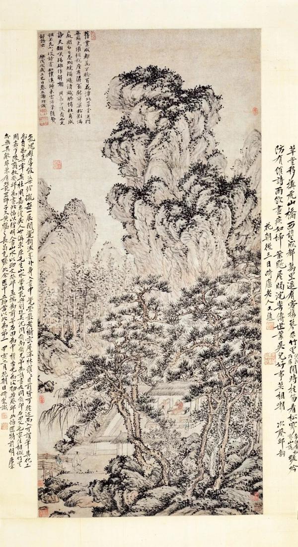 """""""幽居与雅集:明清山水人物画中的文士生活""""开幕"""
