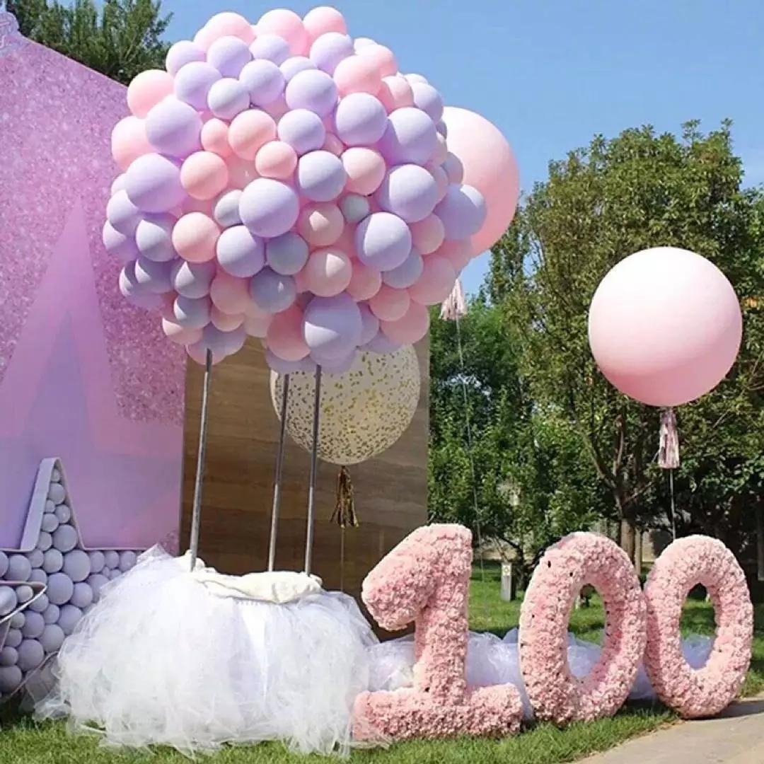 """生日派對氣球布置圖片教程!是""""魔""""是""""仙"""" 自己說了算"""