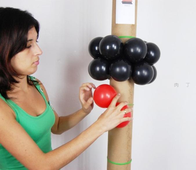 氣球柱子造型怎么綁的?分享做法最簡單的圖片教程