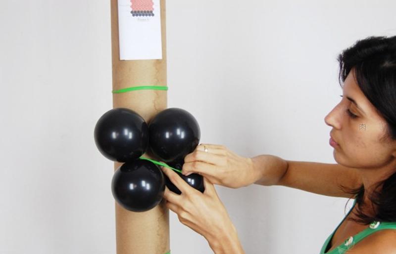 气球柱子造型怎么绑的?分享做法最简单的图片教程
