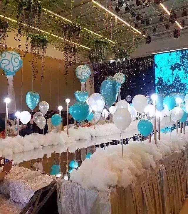 婚房布置氣球用什么粘?教你布置簡單好看的效果圖