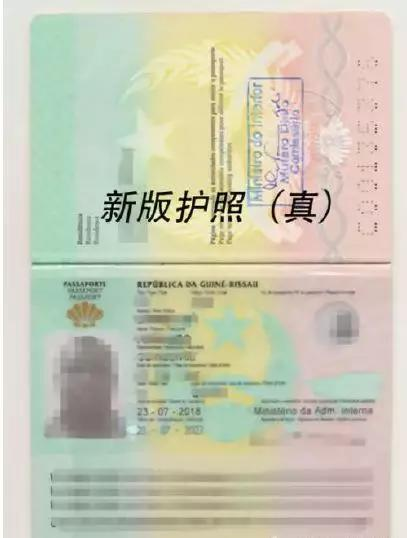 注意!中国公民切记请勿非法办理几内亚比绍护照