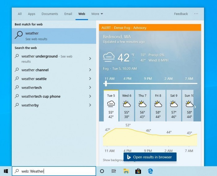 Win10 Build 19018发布:新增四项快速搜索功能的照片 - 5