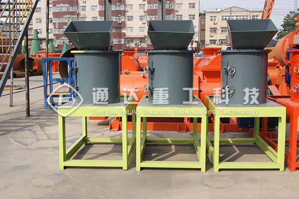 蘑菇渣加工有机肥生产线配套设备