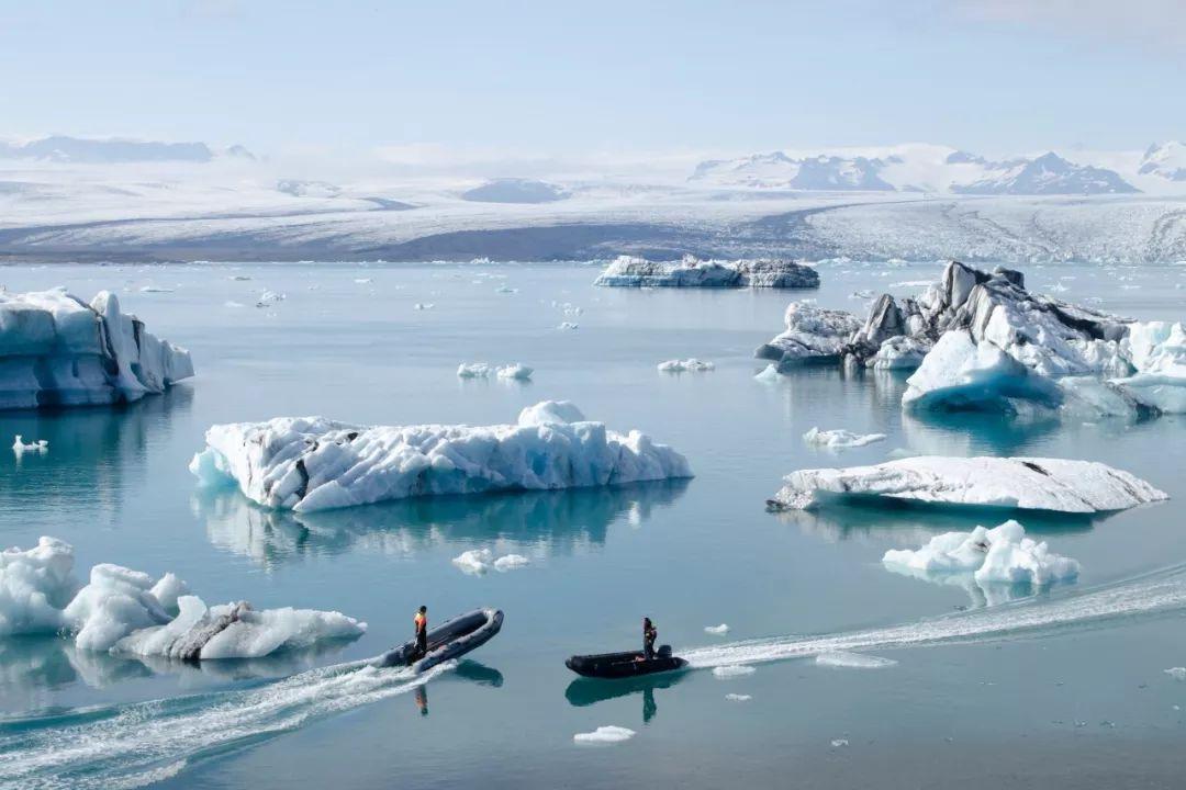 冰岛钻石黑沙滩
