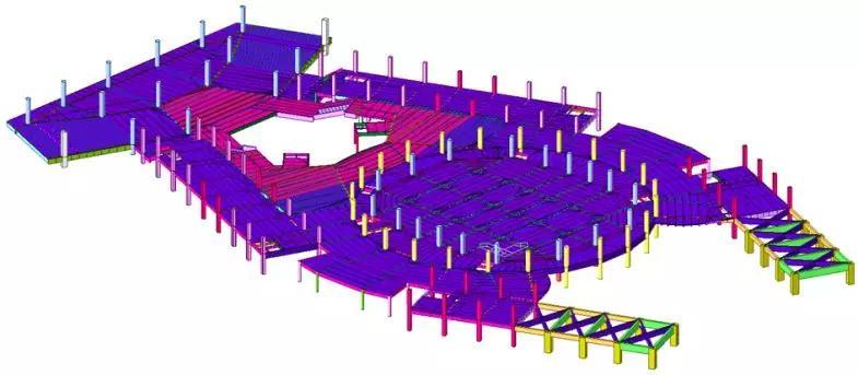 德州国际会展中心楼层平面布置图